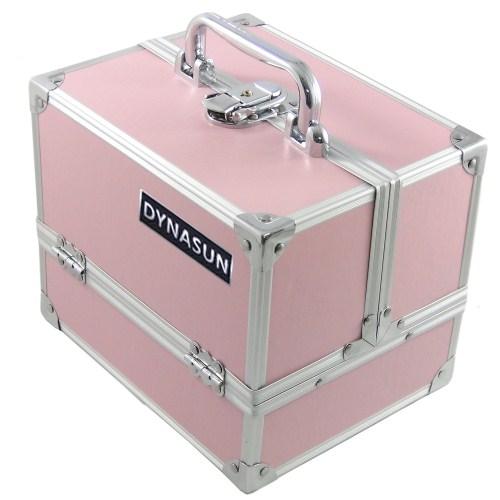 designer beauty case bs35 pink vanity makeup cosmetic travel organizer make up ebay. Black Bedroom Furniture Sets. Home Design Ideas