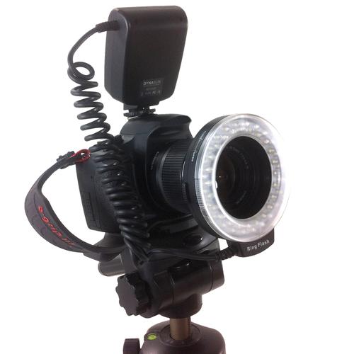 550 LED Macro Ring Flash Light for Canon Nikon Olympus ...